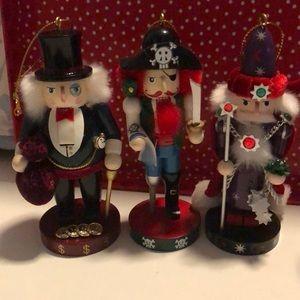 Nutcracker Village ornaments